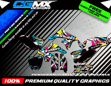 250 rmz suzuki Alpinestars Motocross MX ATV QUAD Graphics FULL DECAL Kit deco