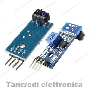 Modulo TCRT5000 Sensore IR Infrarosso Movimento Switch LED (Arduino-Compatibile)