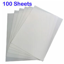 100 Sheets A4 Dye Sublimation Heat Transfer Paper Blank White Heat Press Paper