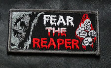 FEAR THE REAPER ACU TACTICAL COMBAT MORALE HOOK PATCH