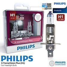 Pair Genuine PHILIPS H1 X-treme Vision Plus Halogen Bulb 130% 12V 55W Car Light