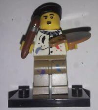LEGO ® Minifigur Sammelserie 4 8804 Künstler Maler (NR.14)
