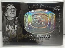 Larry Brown 2011-12 UD Exquisite Championship Bling on-card Auto /99  UCLA / SMU