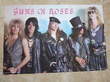"Guns N Roses Rare Original Poster Richard House 1233 England 1988 23.5"" x 34.5"""