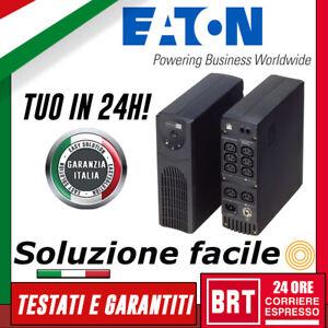 GRUPPO DI CONTINUITA UPS EATON 5110 700VA 420W PROTEZIONE TENSIONE PC ALLARME!!