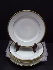 Tiffany & Co. Limoges GOLD BAND D'OR Dinner Plates / Set of 4