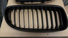 BMW E92 E93 LCI COUPE CONVERTIBLE BLACK KIDNEY GRILL SET NEW