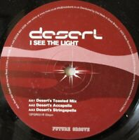 "DESERT - I See The Light ~ 12"" Single"