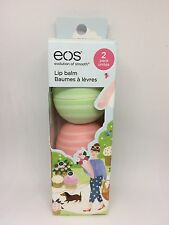 New EOS Lip Balm Limited Edition Visibly Soft Cucumber Melon Coconut Milk 2 Pack