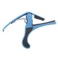 Capotasto Mobile Azzurro in Metallo per Chitarra Acustica 105*85*12mm F6J2 N4B6