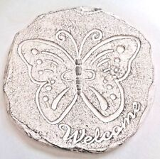 "Butterfly stepping stone mold plaster concrete casting mould 12"" x 1.75"""