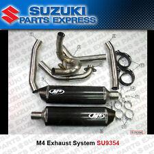 1999 - 2003 SUZUKI TL1000R TL 1000 R M4 FULL SYSTEM EXHAUST DUAL CARBON MUFFLERS