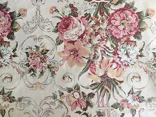 Ralph Lauren Guinevere Queen Bed Skirt Floral Vintage Sateen EUC!