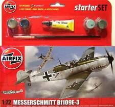 AIRFIX A55106 - 1/72 MESSERSCHMITT BF109E3 MODEL SET (PLASTIC KIT)