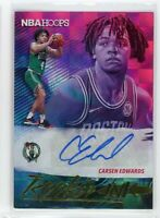 2019-20 Carsen Edwards Auto Panini Hoops Autographs Rookie INK RC