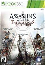 ASSASSINS CREED: The AMERICAS COLLECTION (XBOX 360, 2014) (0622) **FREE SHIPPING