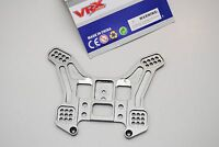 85904 VRX Torreta Trasero de aluminio 1/8/REAR SHOCK PLACA