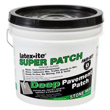Asphalt Repair Concrete Pavement Pothole Driveway Crack Sealer Super Patch 1 Gal
