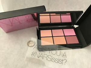 NARS NARSISSIST UnfilteredII Cheek Palette 6 shades (0.12 oz each)  HOLIDAY SALE