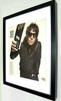 Liam Gallagher OASIS Framed Original NME 60 Plaque Certificate V RARE-Unique