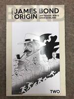 James Bond Origin #2 B/W 1:10 Variant Cover Comic Dynamite