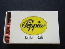 POPPIES KUTA BALI ANKER BIR KAWAN DI ANTARA KAWAN 51059 MATCHBOX