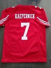 30b52bb98b0 Nike Colin Kaepernick San Fransisco 49ers Jersey Youth Sz Medium 10 12 M  boys