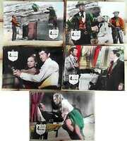 5 Original Aushangfotos Vier für Texas - Frank Sinatra Dean Martin - coloriert