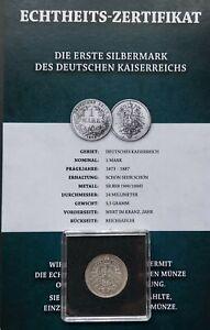 1 MARK Deutsches Kaiserreich 1873