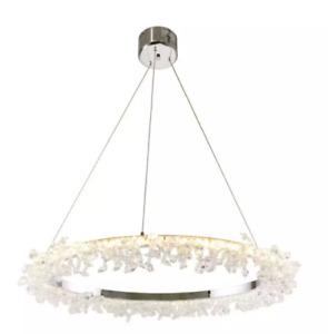 Debenhams Chrome Crystal Effect 'Tatiana' LED Pendant Ceiling Light RRP £225