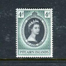 1953 Pitcairn Island Coronation Of Her Majesty Queen Elizabeth Ii Muh