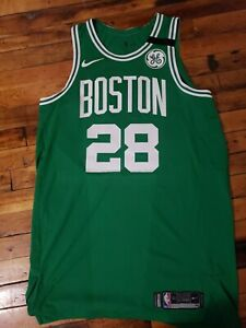 Abdel Nader Boston Celtics Authentic Green Game Worn Jersey NBA Nike Size 52