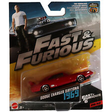 Dodge Charger Daytona 1969 Mattel Fast & Furious 6 1:64 Scale Model Toy Car #29