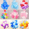 "12"" Heart Shape Balloons Romantic Ballon His/Her LOVE Birthday PARTY Baloons UK"