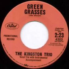 "[JOHN STEWART] KINGSTON TRIO ~ GREEN GRASSES ~ 1961 US ""PROMO"" 7"" SINGLE"