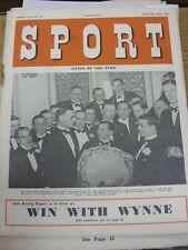04/07/1952 SPORT MAGAZINE: Vol.14, No.234 - Kings of the Turf-CORSE DI CAVALLI [FR