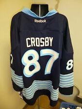 Reebok NHL Pittsburgh Penguins Sidney Crosby Youth Replica Jersey NWT L/XL