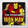 Logoshirt Comic Untersetzer Coaster Marvel Iron Man Bierdeckel Beer Mat Drink