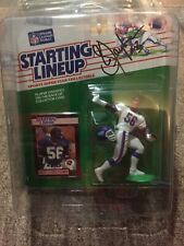Lawrence Taylor signed/ Autographed 1989 Starting Lineup ..Giants..w/ Case