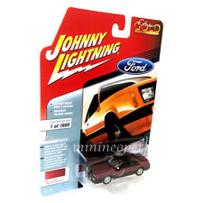 JOHNNY LIGHTNING JLSP033 1982 FORD MUSTANG GT 1/64 DIECAST MEDIUM RED POLY
