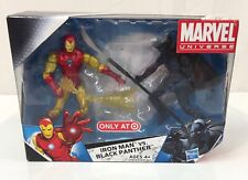 Marvel Universe Iron Man vs Black Panther Figure 2-Pack 2009 MIB Exclusive
