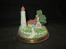 Thomas Kinkade The Light of Peace Battery Operated Lighted Lighthouse Figure