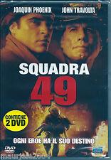 Squadra 49 (2004) Doppio 2 DVD NUOVO SIGILLATO John Travolta. Joaquin Phoenix