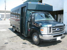2008 Ford E-350 15 Passenger Plus Driver & Rear Luggage Shuttle Bus