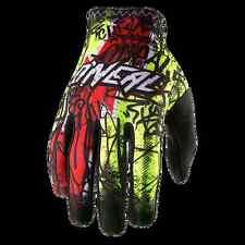 GUANTO MTB DOWNHILL DH ONEAL Matrix Glove VANDAL hi-viz/red rosso