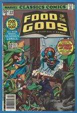 Marvel Classics Comics 22 Food of the Gods High Grade H.G.Wells Gil Kane Cover