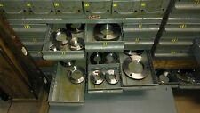 3/4-32  UNS 2A THREAD RING GAGE SET GO/NOGO GAGE ASSEMBLY CO,VERMONT,RUTLAND
