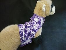 Ferret Harness - Purple & Lavender Splash - M/L