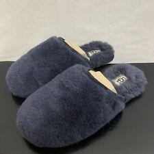 UGG Fluffette Slippers in True Navy Blue 8 New