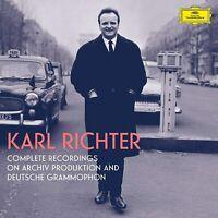 Karl Richter: Sämtliche Aufnahmen auf DG (Ltd.Ed.) 100CD NEU OVP VÖ 06.11.2020